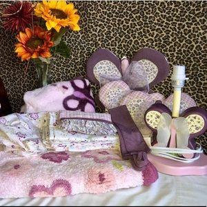 COCALO Sugar Plum Girls Nursery Decor Bundle